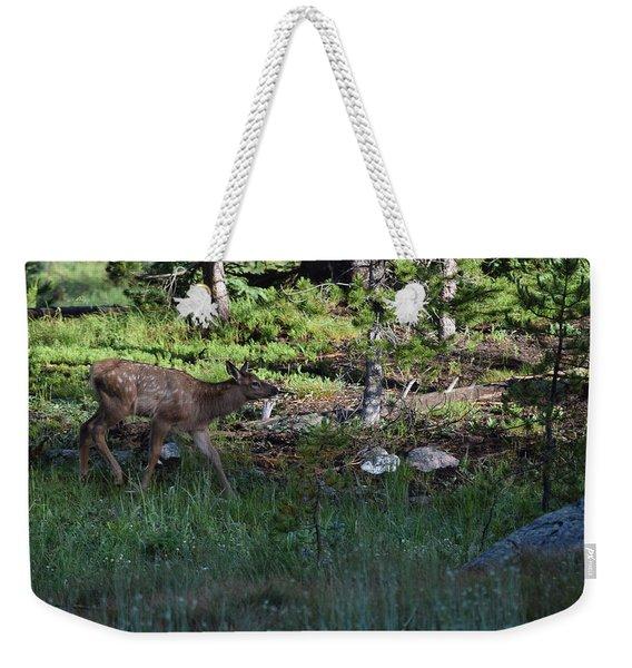 Baby Elk Rmnp Co Weekender Tote Bag
