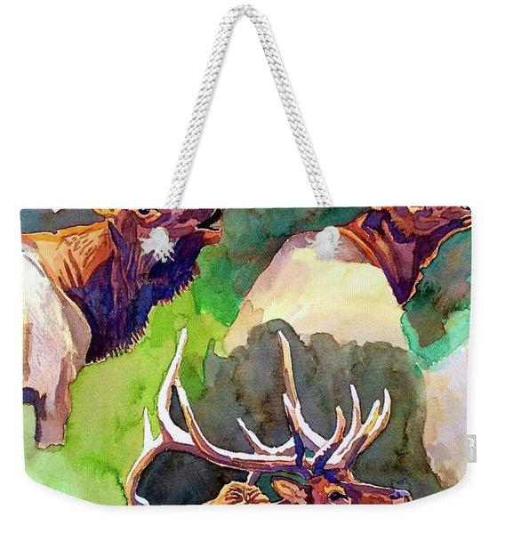 Elk Studies Weekender Tote Bag