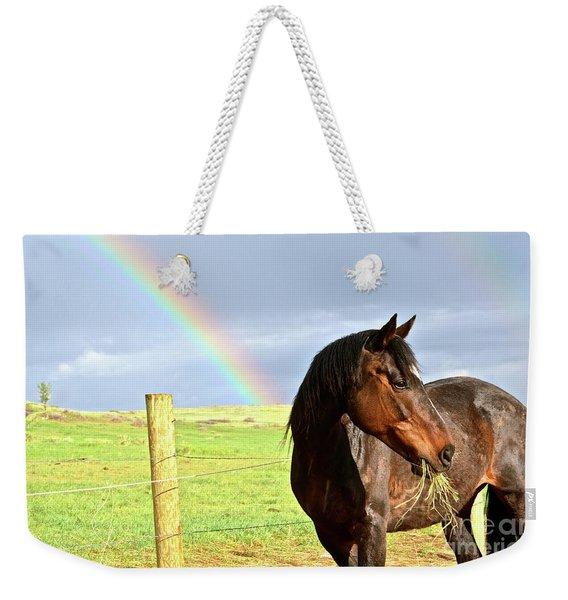 Ella And The Rainbows Weekender Tote Bag