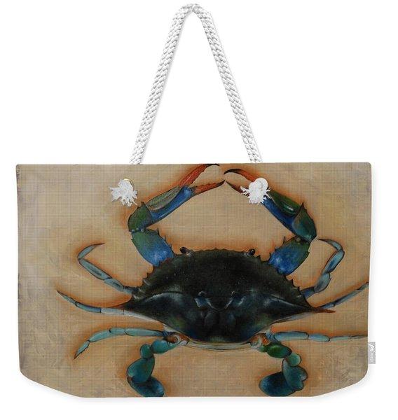 Ellen's Crab Weekender Tote Bag