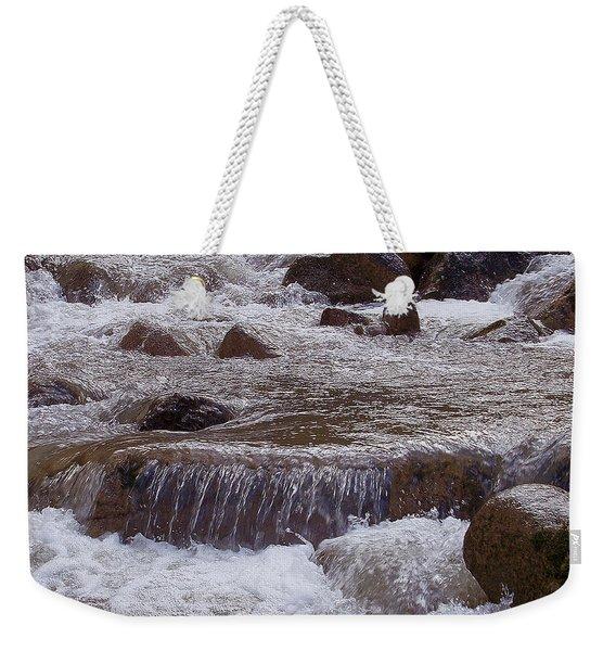 Ellenville Waterfall Weekender Tote Bag