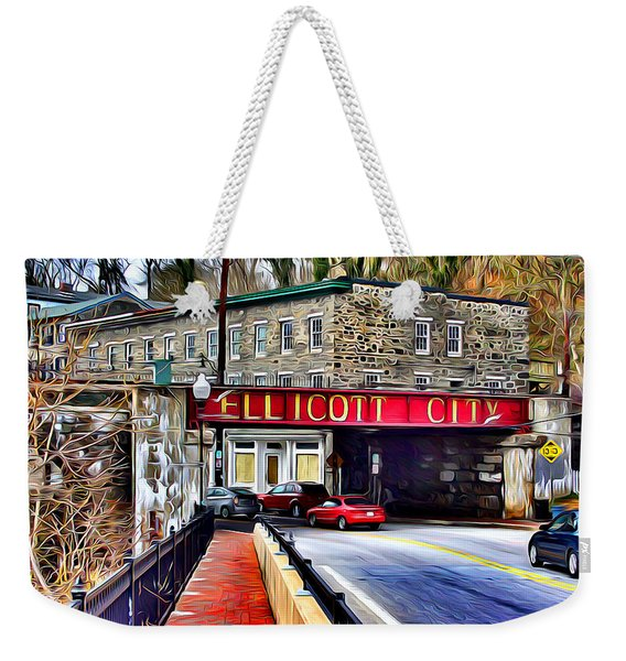 Ellicott City Weekender Tote Bag