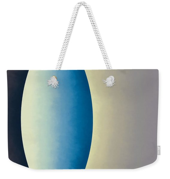 Blue Moon Weekender Tote Bag
