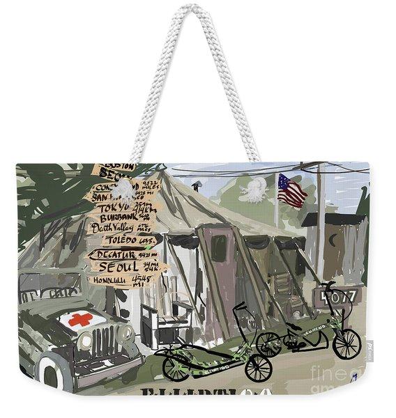 Elliptigo  In The Army Weekender Tote Bag