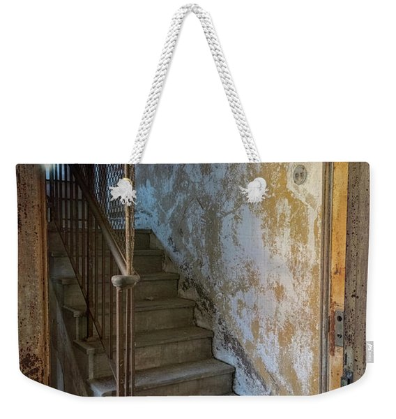 Ellis Island Stairs Weekender Tote Bag