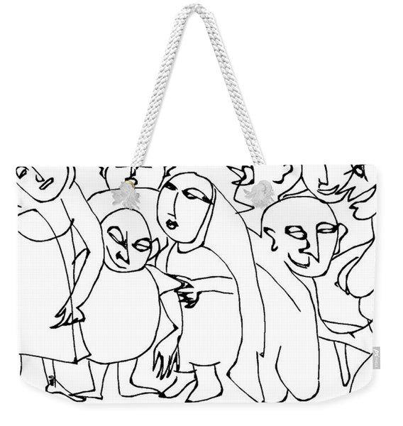 Eloise Decided To Get The Children Away From Dad's Poker Game Weekender Tote Bag