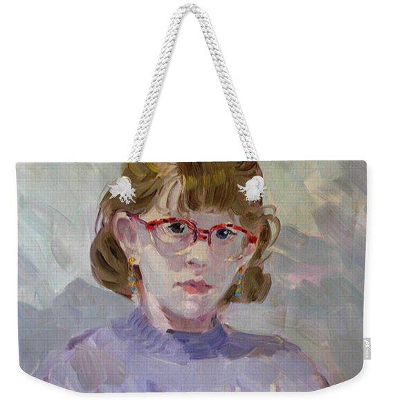 Elona Weekender Tote Bag