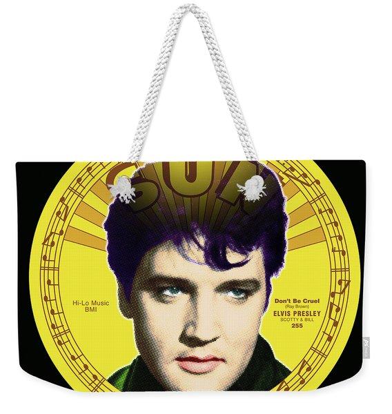 Elvis Weekender Tote Bag