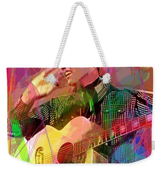 Elvis Rockabilly  Weekender Tote Bag