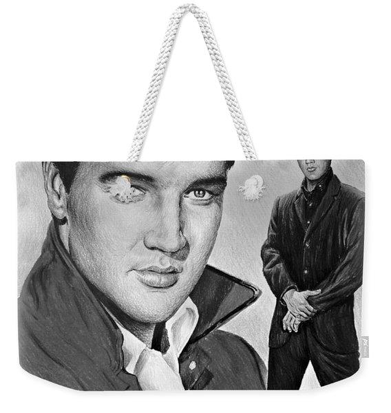 Elvis Roustabout Weekender Tote Bag