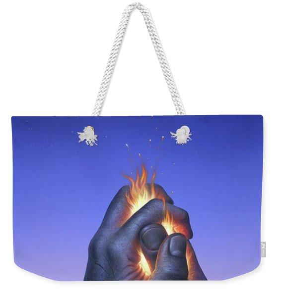 Embers Turn To Stars Weekender Tote Bag