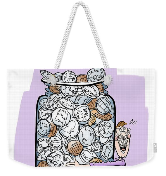 Embrace Change Weekender Tote Bag
