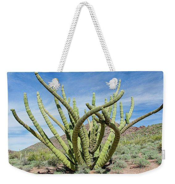 Embracing The Cristate Weekender Tote Bag