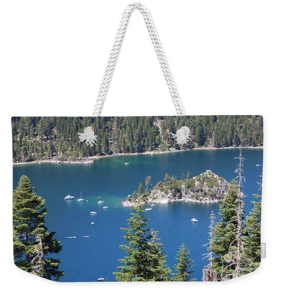 Emerald Bay Weekender Tote Bag