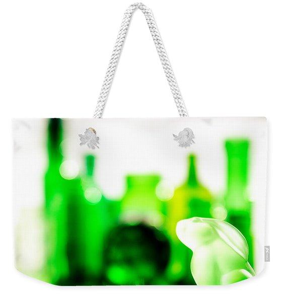 Emerald City V - Square Weekender Tote Bag
