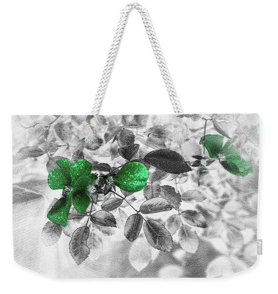 Emerald Green Of Ireland Weekender Tote Bag