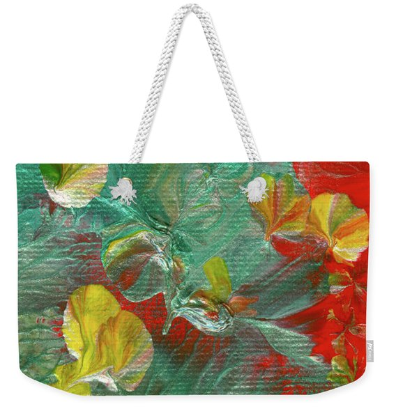 Emerald Island Weekender Tote Bag