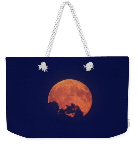 Emerging Moon Weekender Tote Bag