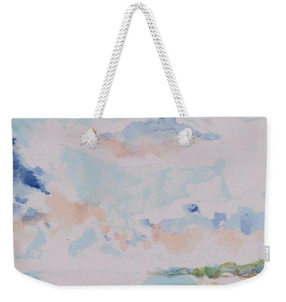 Emerging Sun 2 Weekender Tote Bag