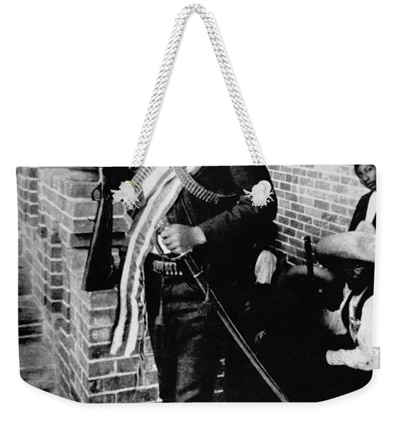 Emiliano Zapata Weekender Tote Bag