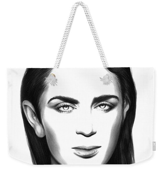 Emily Blunt Weekender Tote Bag