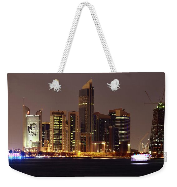 Emir On The Skyline Weekender Tote Bag