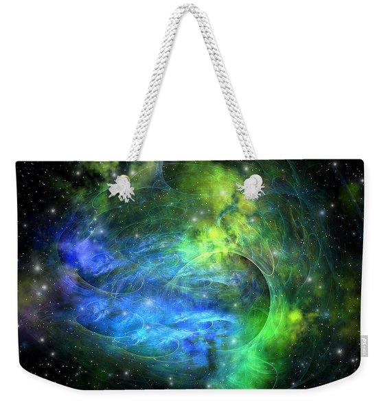 Emission Nebula Weekender Tote Bag