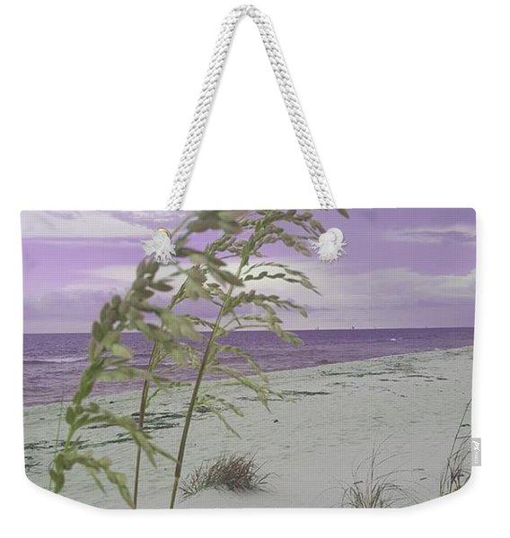Emma Kate's Purple Beach Weekender Tote Bag