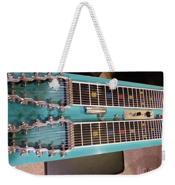 Emmons Lashley Legrande Pedal Steel Guitar Weekender Tote Bag
