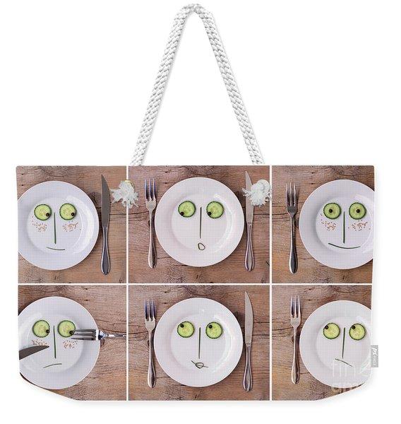 Emotions 02 Weekender Tote Bag