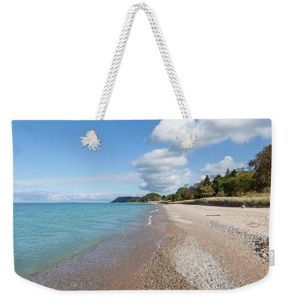 Empire Beach Weekender Tote Bag
