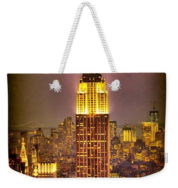 Empire Light Weekender Tote Bag