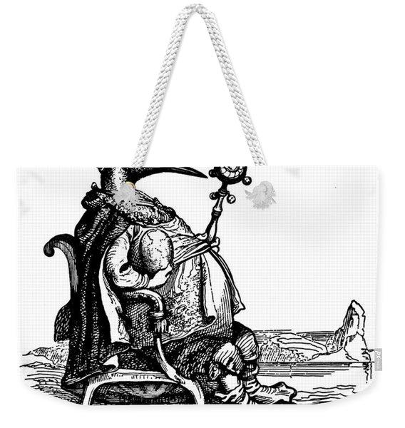 Empire Penguin Grandville Transparent Background Weekender Tote Bag