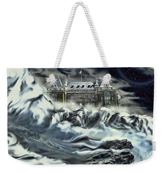 Empressed By Snow Weekender Tote Bag