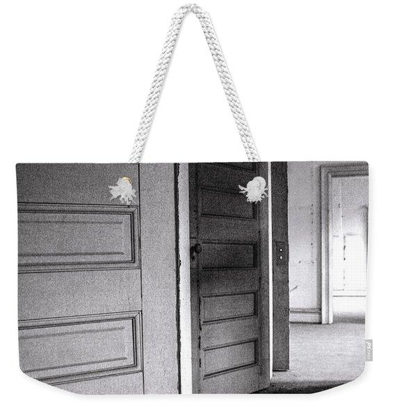 Empty Doors Weekender Tote Bag