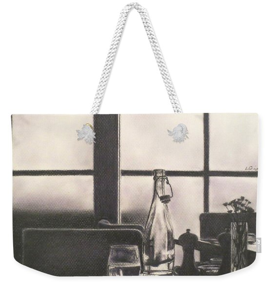 Empty Glass Weekender Tote Bag