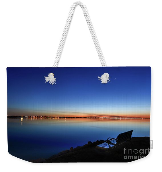 Empty Seat Watching The Moon Weekender Tote Bag
