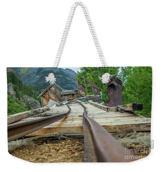 Empty Tracks Weekender Tote Bag