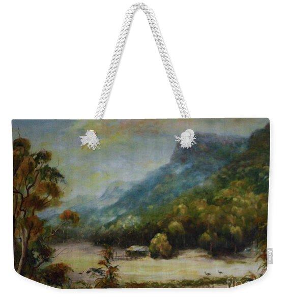 Emu Plains, Grampians Weekender Tote Bag