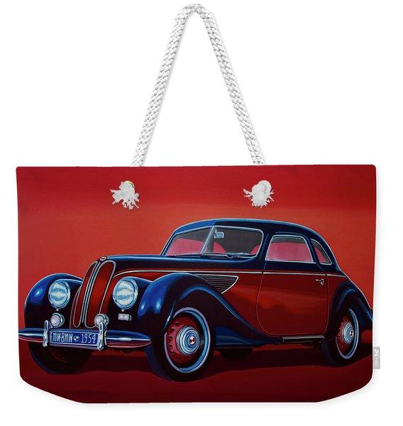 Emw Bmw 1951 Painting Weekender Tote Bag