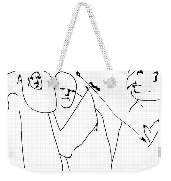 En Garde Weekender Tote Bag