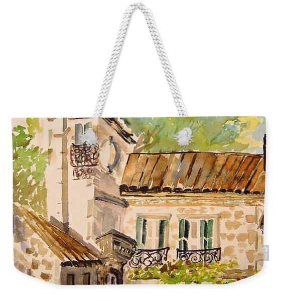 En Plein Air At Moulin De La Roque France Weekender Tote Bag