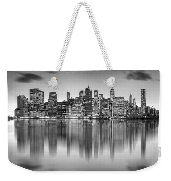 Enchanted City Weekender Tote Bag