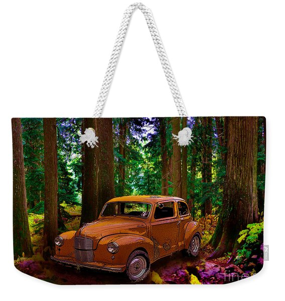 Enchanted Forest Weekender Tote Bag