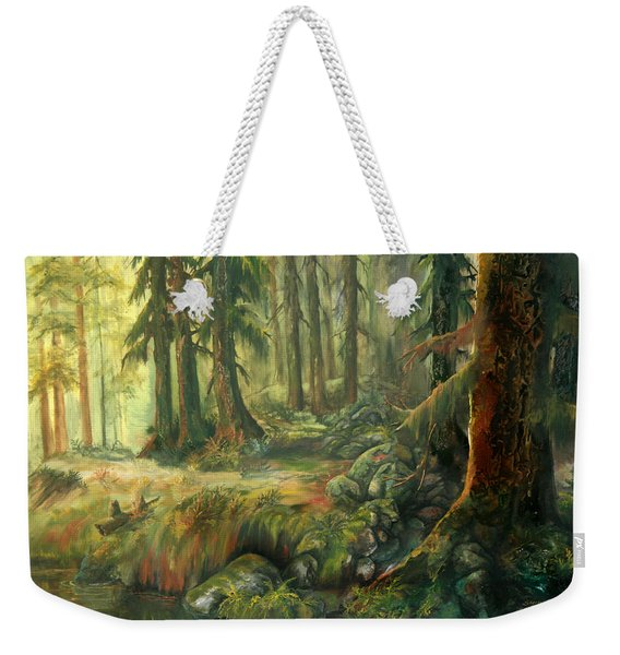 Enchanted Rain Forest Weekender Tote Bag