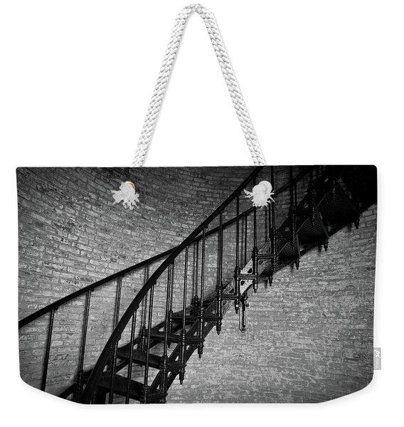 Enchanted Staircase II - Currituck Lighthouse Weekender Tote Bag