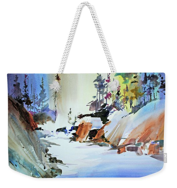 Enchanted Wilderness Weekender Tote Bag