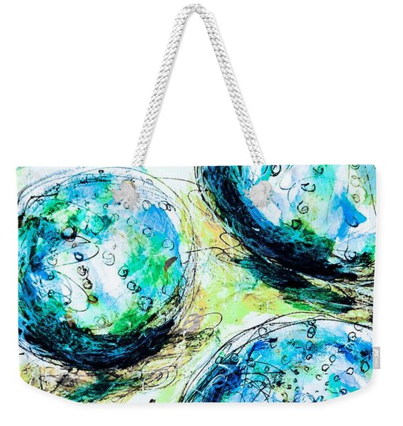 Enchanthing Sea Urchins Weekender Tote Bag