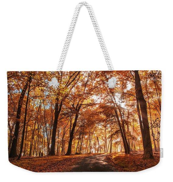 Enchanting Fall Weekender Tote Bag