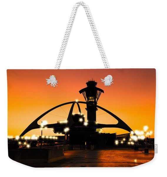 Encounters Lax With Light Weekender Tote Bag